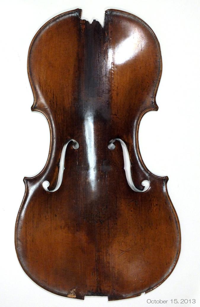 これをバロック・バイオリンに戻...