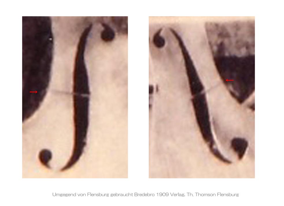 Umgegend von Flensburg gebraucht Bredebro 1909 Verlag Th Thomson Flensburg - E L