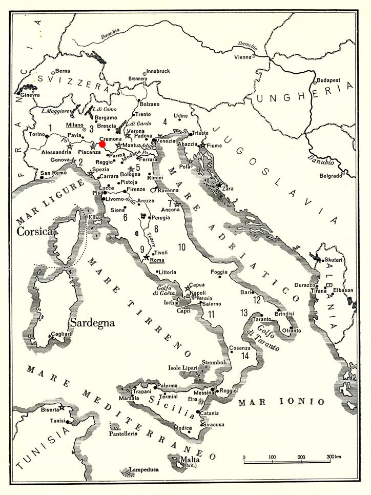 Cremona Map - A L