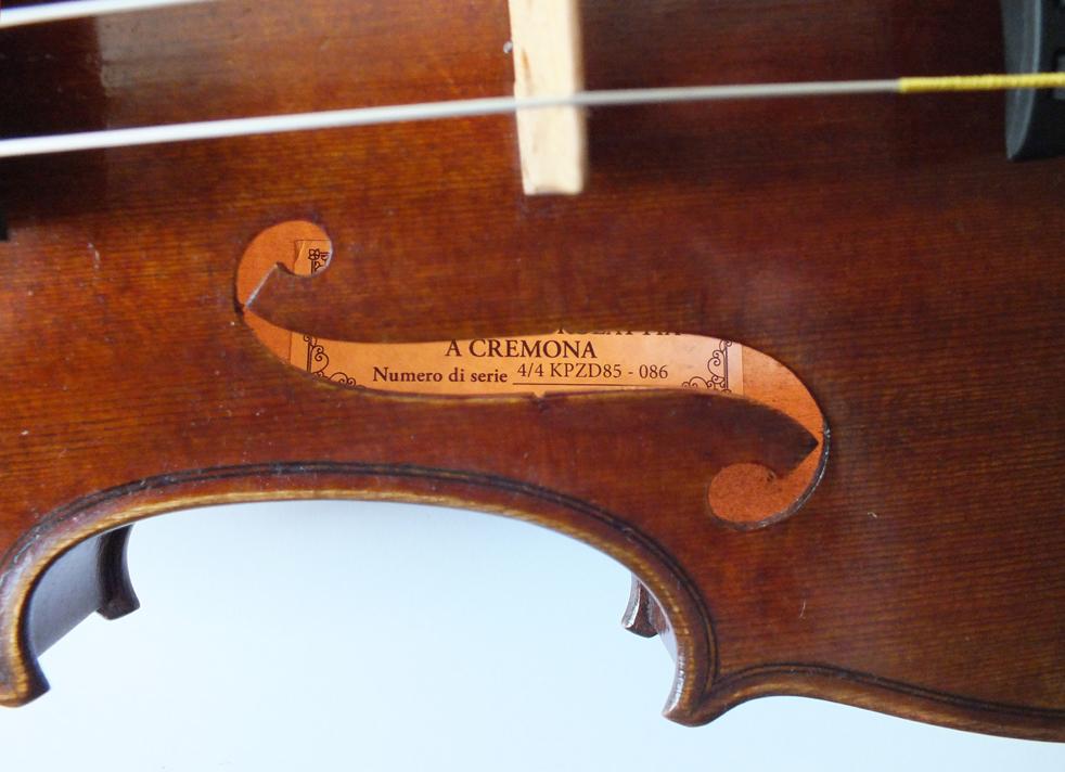 Otolier violin - A L