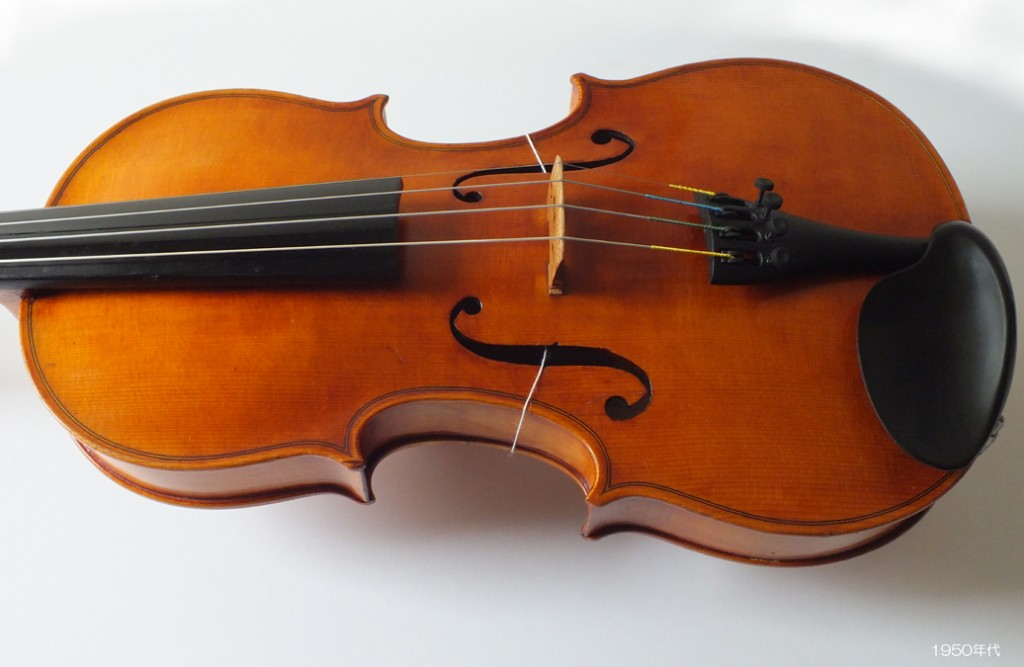 Violin Made in West Germany - Antonius Stradivarius 1713 - 1950年代 - 6 L