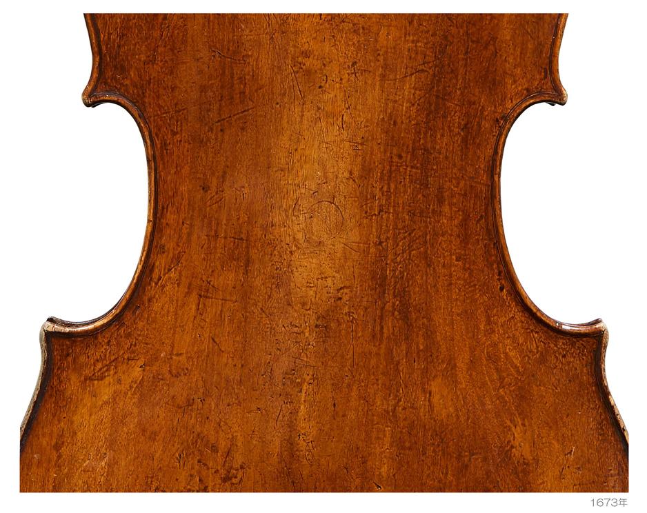Antonio Stradivari 1673年Harrell - Du Pre - Guttmann - A L