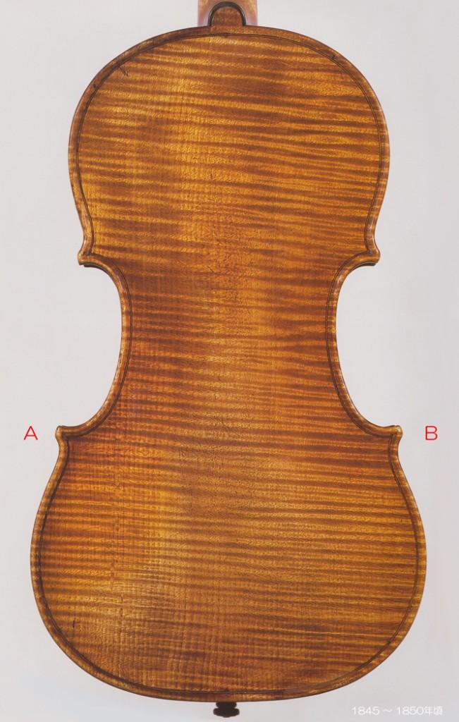 Giuseppe Antonio Rocca ( 1807-1865 ) Violin 1845-1850年頃 - C L