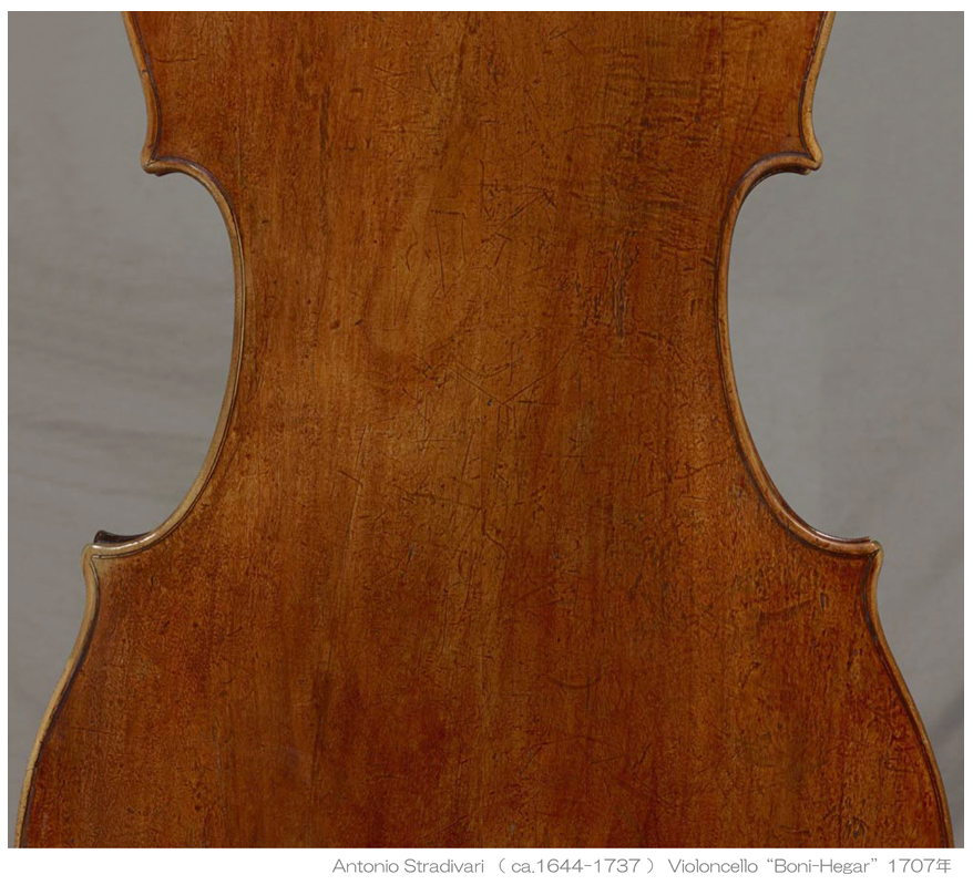 Antonio Stradivari cello 1707年 Boni-Hegar - G L