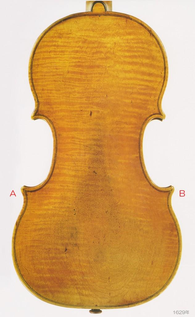 Antonio e Girolamo Amati violin 1629年 - G L