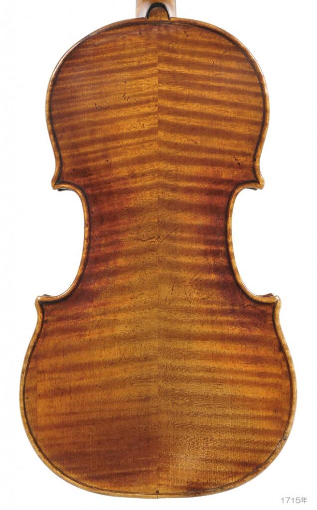 Antonio Stradivari violin 1715年 Giuseppe Tartini ( 1715-1770 ) - 1 L