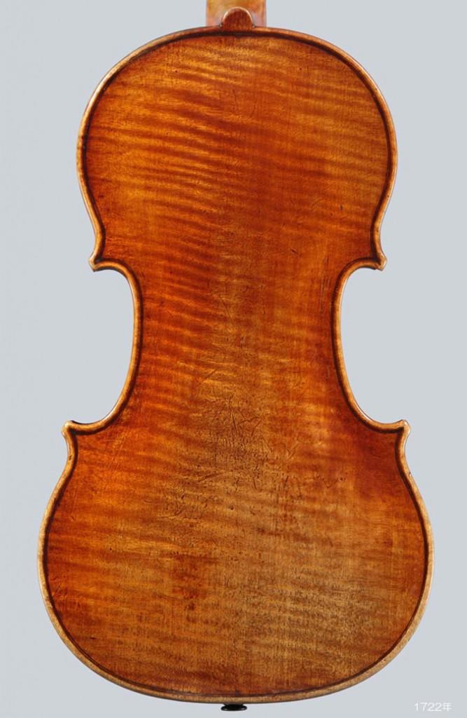 Antonio Stradivari violin 1722年 de Chaponay - A L