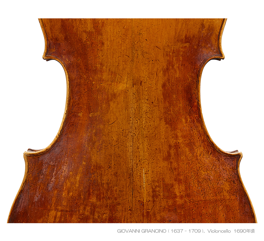 Grancino cello made around 1690 cooper-collection - A L