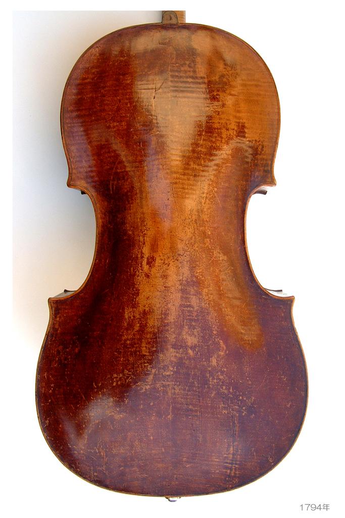 Joseph Thomas Klotz Violoncello piccolo Mittenwald 1794 ( 1743-1809 ) Sebastian 1696-1768 - A L