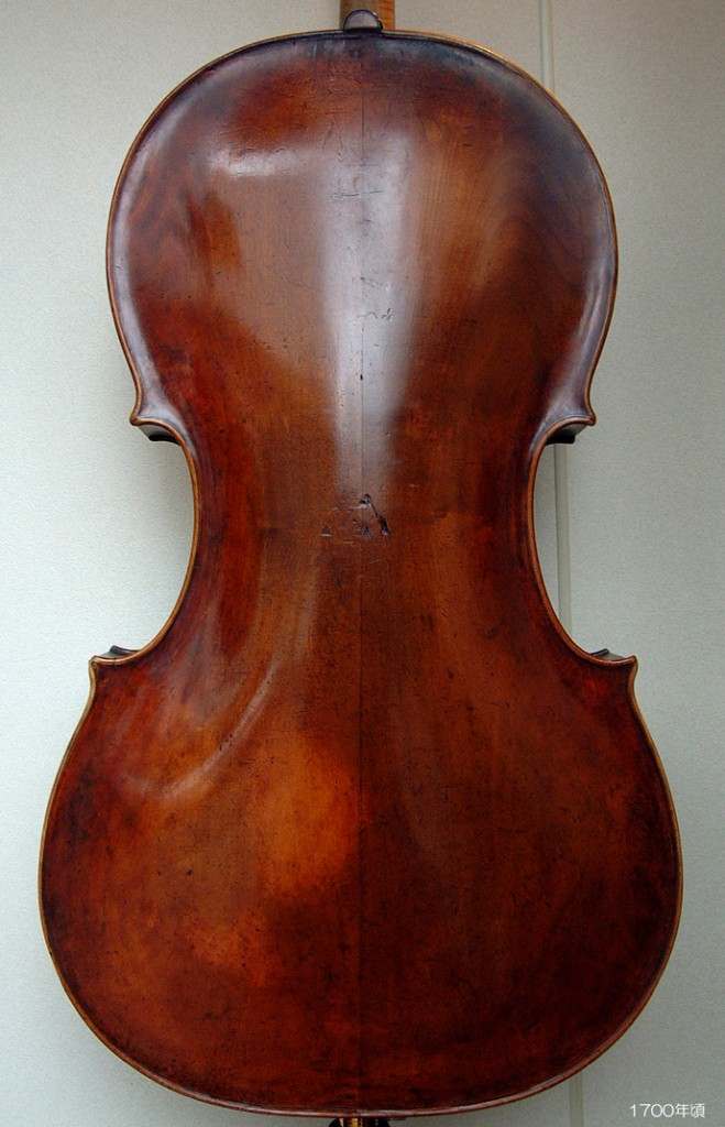 Old Italian Cello c1680 - 1700 ( F 734-348-230-432 B 735-349-225-430 stop 403 ff 100 ) - 1 L