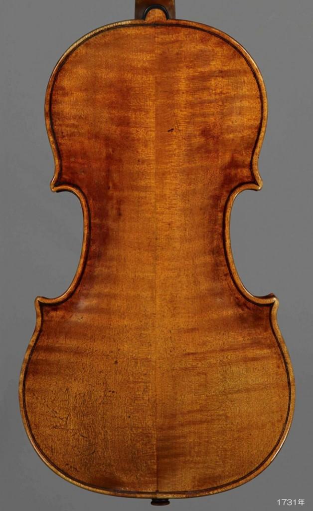 Antonio Stradivari violin 1731年 Lady Jeanne - C L