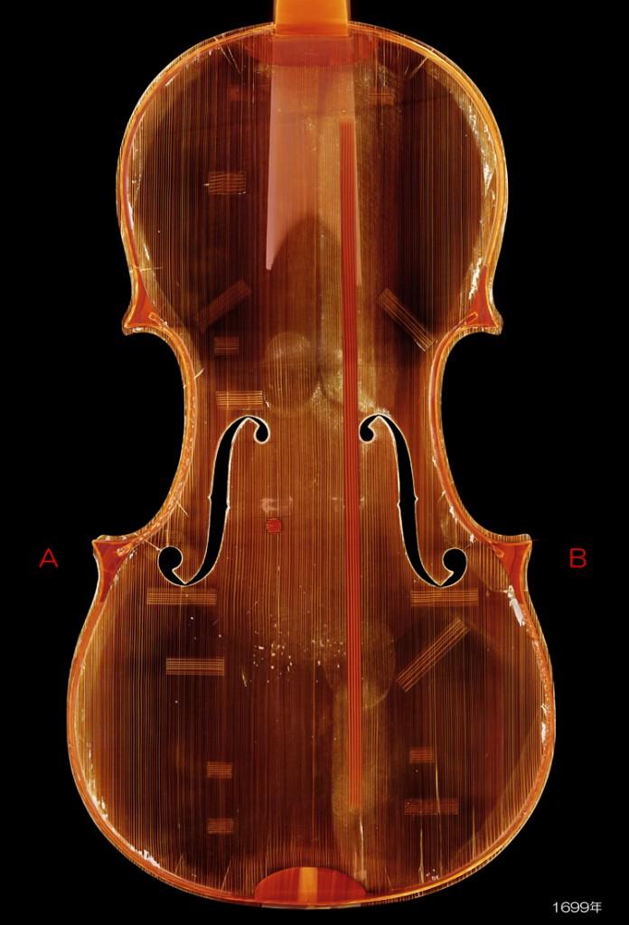 Antonio Stradivari ( c1644-1737 ) violin 1699年 Auer - F L