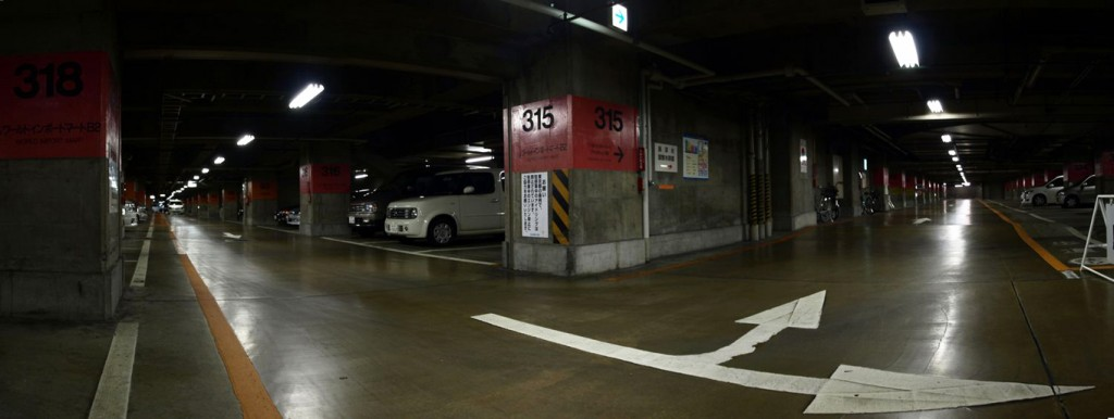 池袋サンシャインシティ 地下駐車場 収容台数 1800台 - 2    L