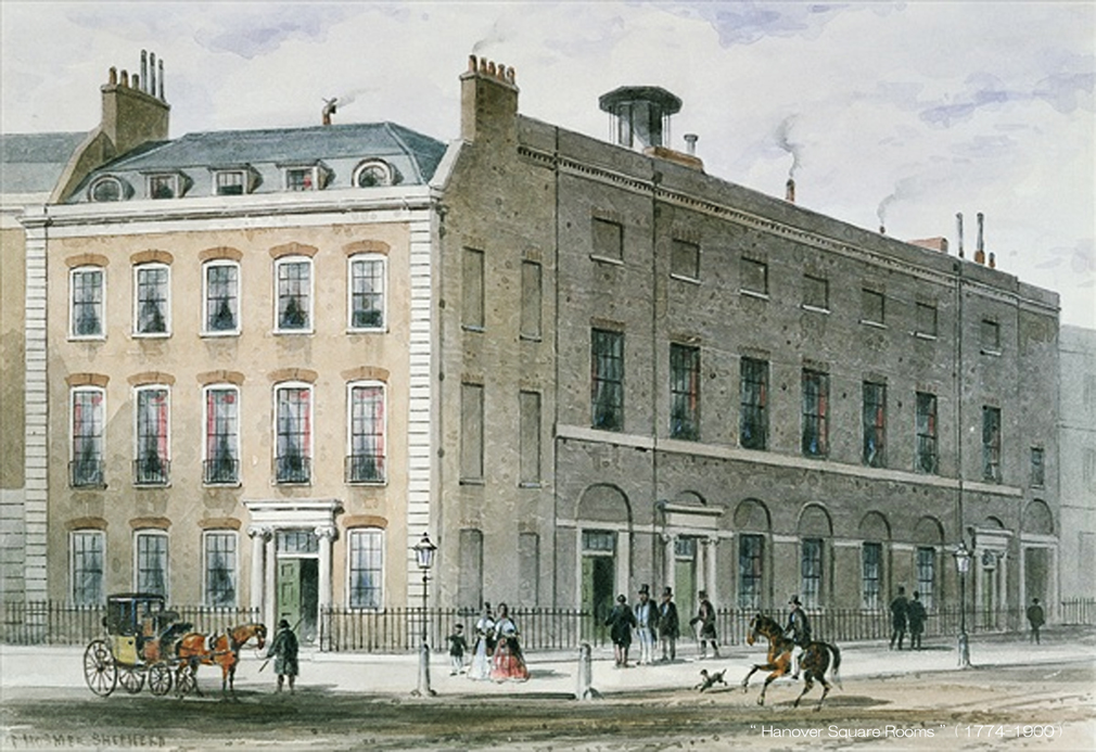 Hanover Square Rooms ( 1774-1900 ) - B L