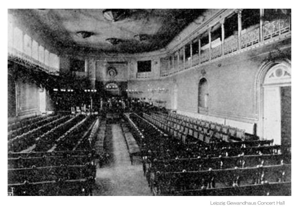 Leipzig Gewandhaus Concert hallb - 1 L