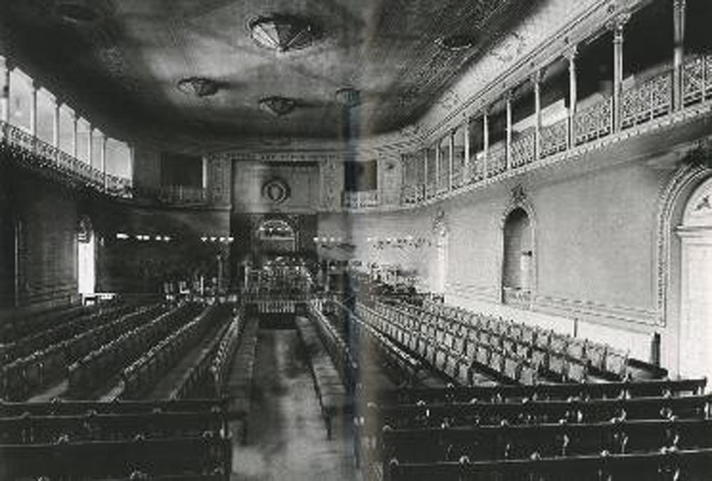 Leipzig Gewandhaus concert room - 1 L