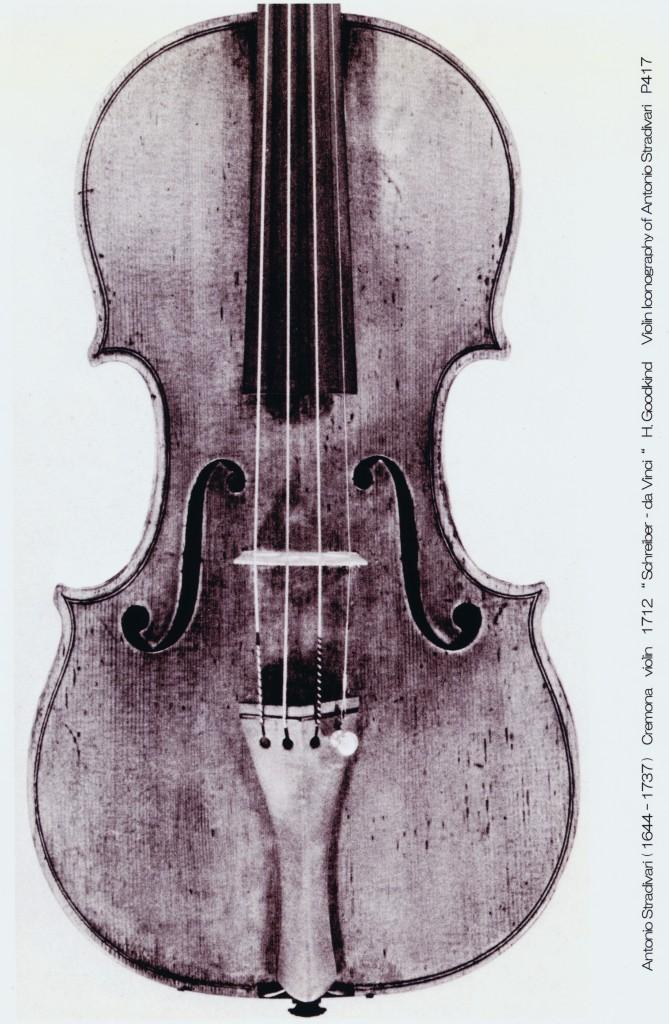 5 Antonio Stradivari Schreiber - da Vinci 1712 ( c 1644-1737 )