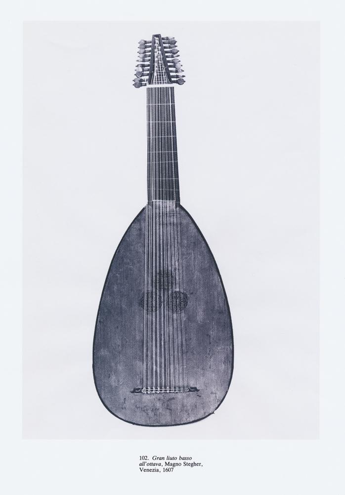 Magno Stegher  -  Gran liuto basso   Venezia 1607年  - 1     L
