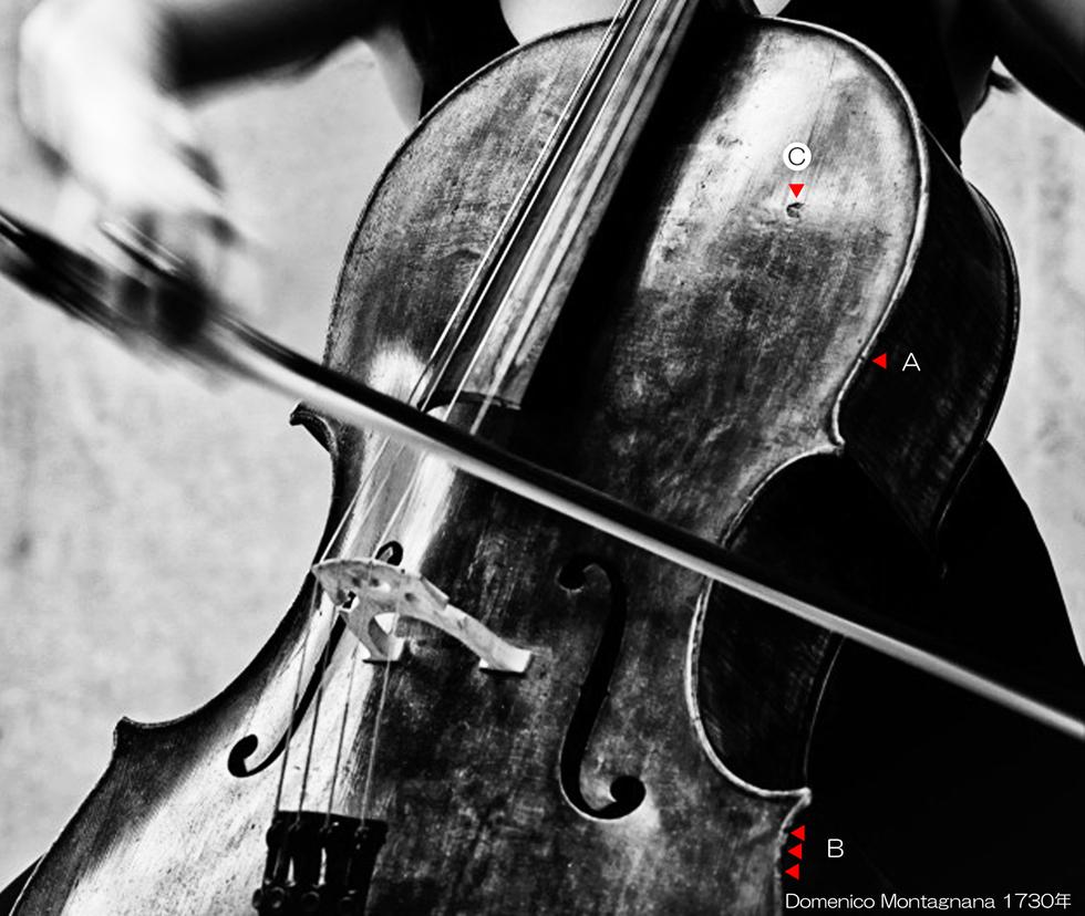 Domenico Montagnana Cello 1730年 - C MONO L