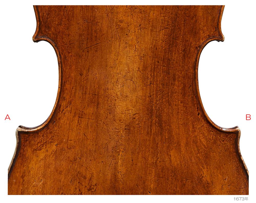 Antonio Stradivari 1673年Harrell - Du Pre - Guttmann - C L