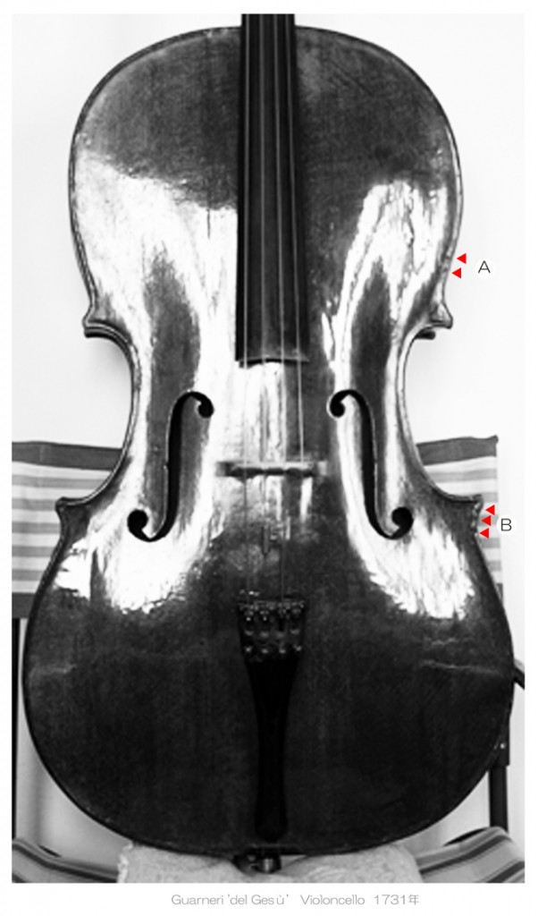 Guarneri 'del Gesù' cello 1731年 - C L