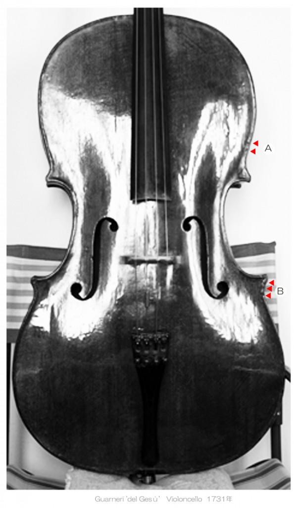 Guarneri 'del Gesù' cello 1731年 - C L