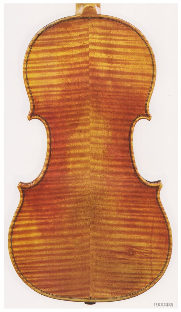 VOLLER BROTHERS violin 1900年頃 - A L