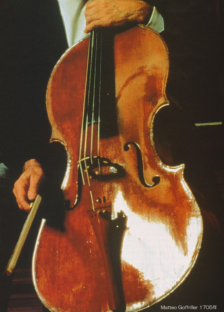 Matteo Goffriller (1659–1742) Cello Venice 1705年 - 3 L