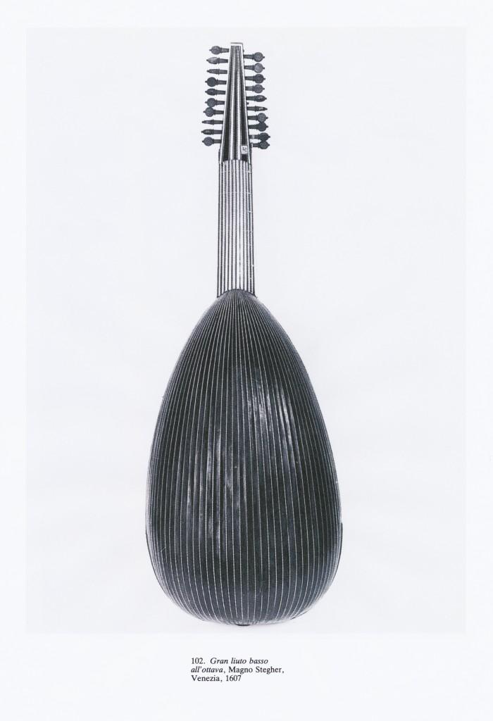 Magno Stegher  -  Gran liuto basso   Venezia 1607  - 1