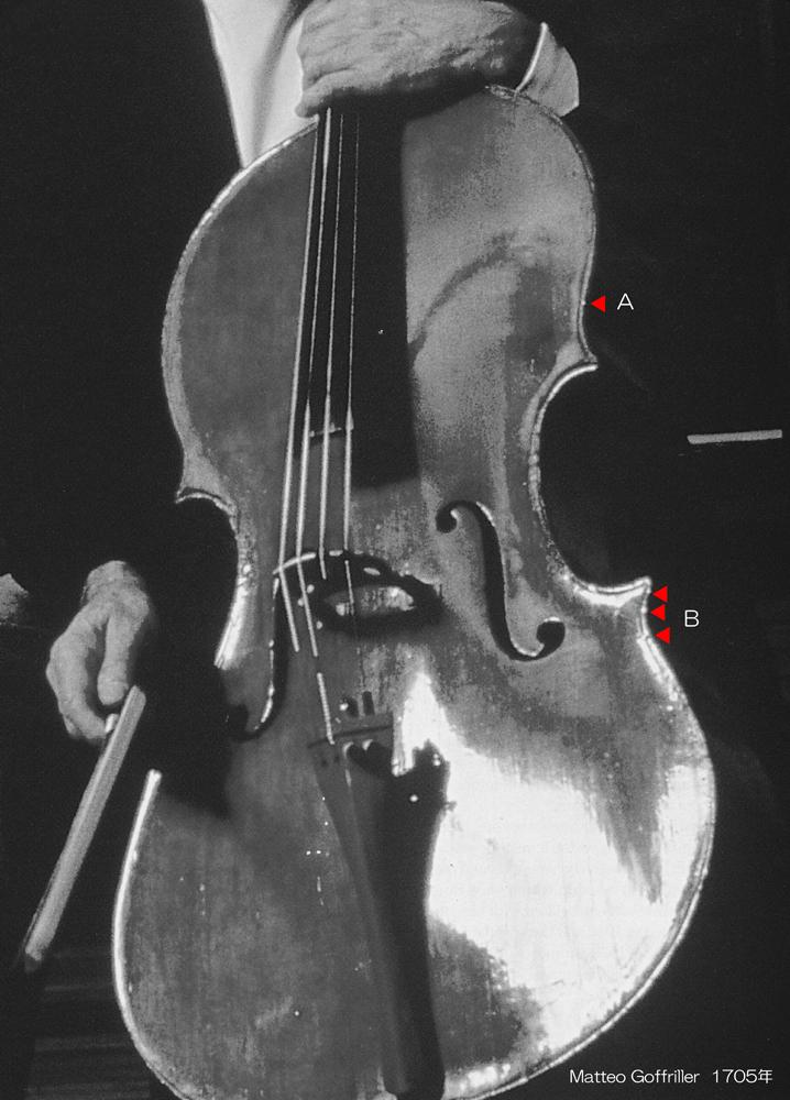 Matteo Goffriller Cello Venice 1705年 MONO - 1 L